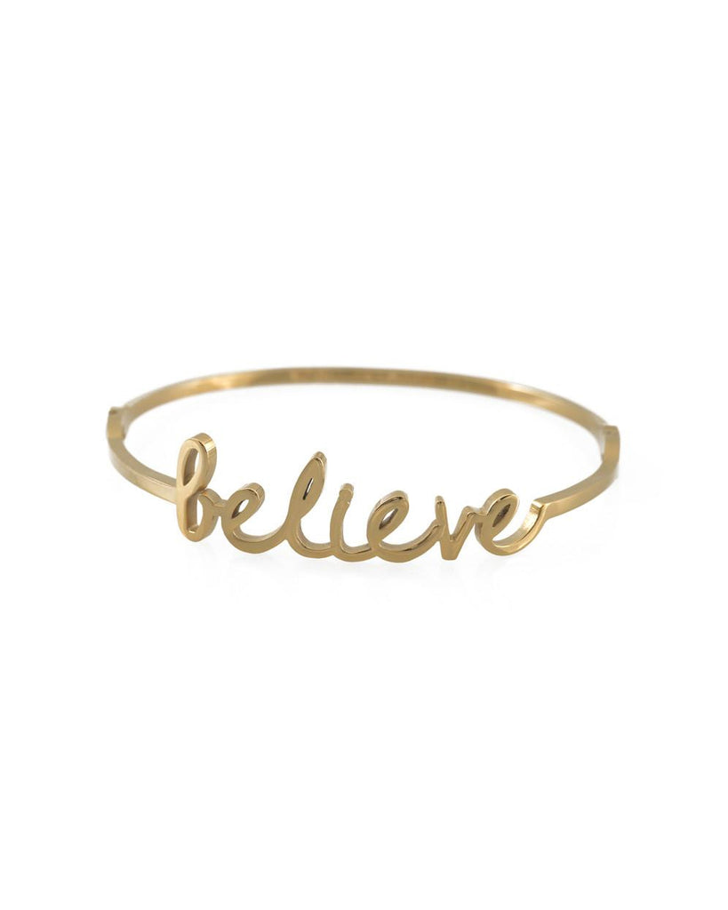 Believe Script Bangle