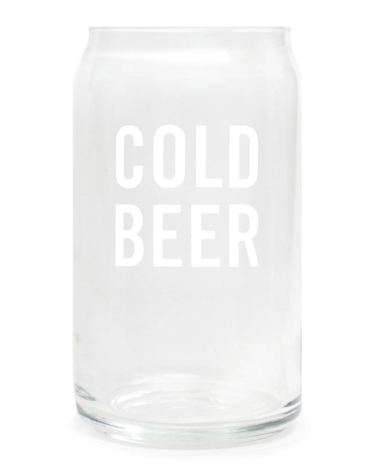 Cold Beer Glasses (Set of 2)