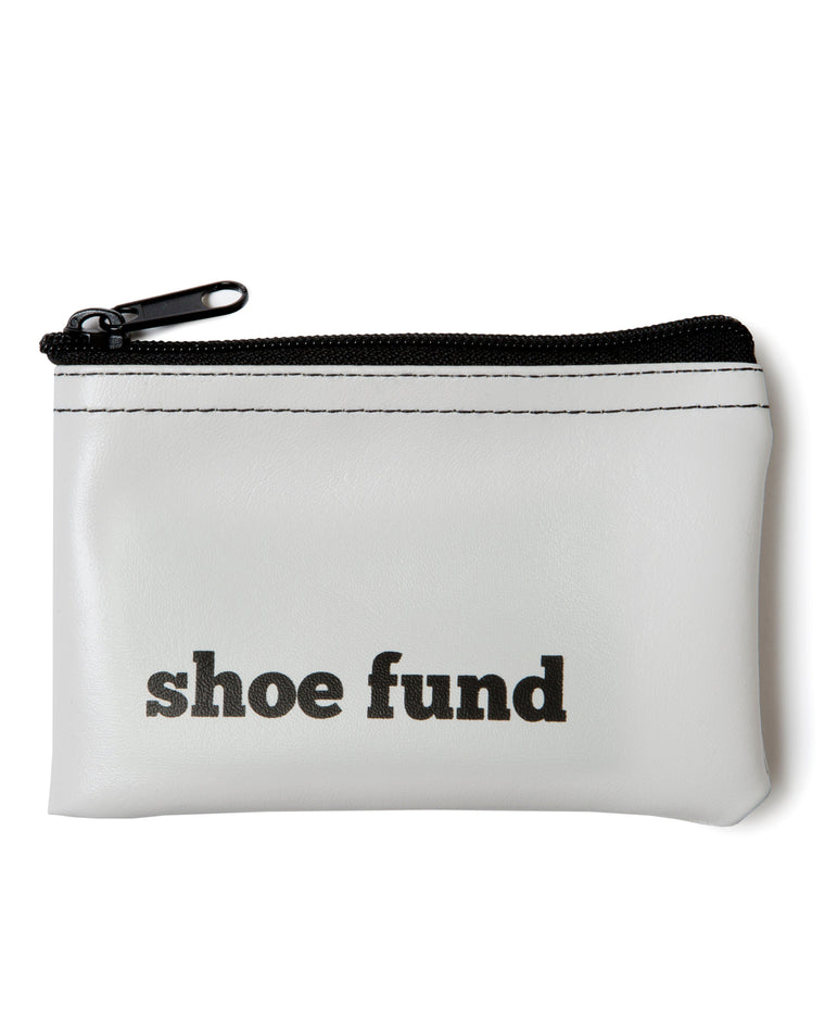 Shoe Fund Coin Zip Pouch