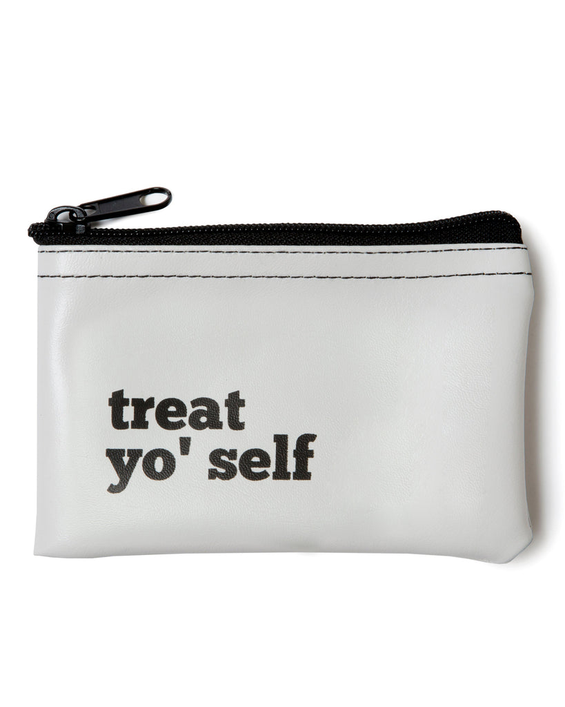 Treat Yo' Self Coin Zip Pouch