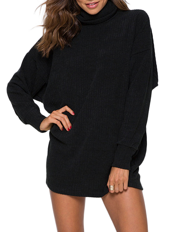 Neve Ribbed Oversized Jumper Dress