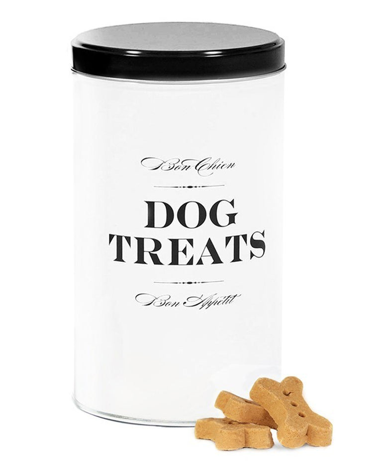 Bon Chien Treat Tin Canister