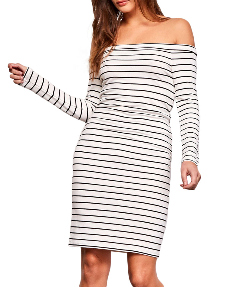 Bridget Striped Bodycon Dress