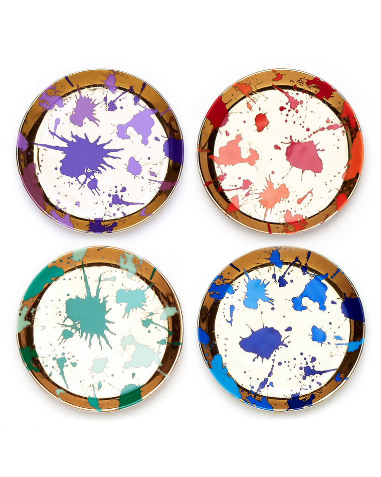 Jackson Splatter Coasters (Set of 4)