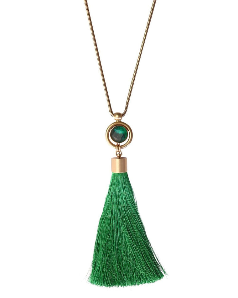 Scarlett Tassel Necklace