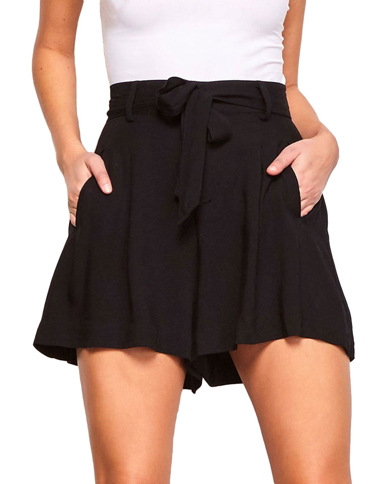 Edmond High Waist Pleated Shorts