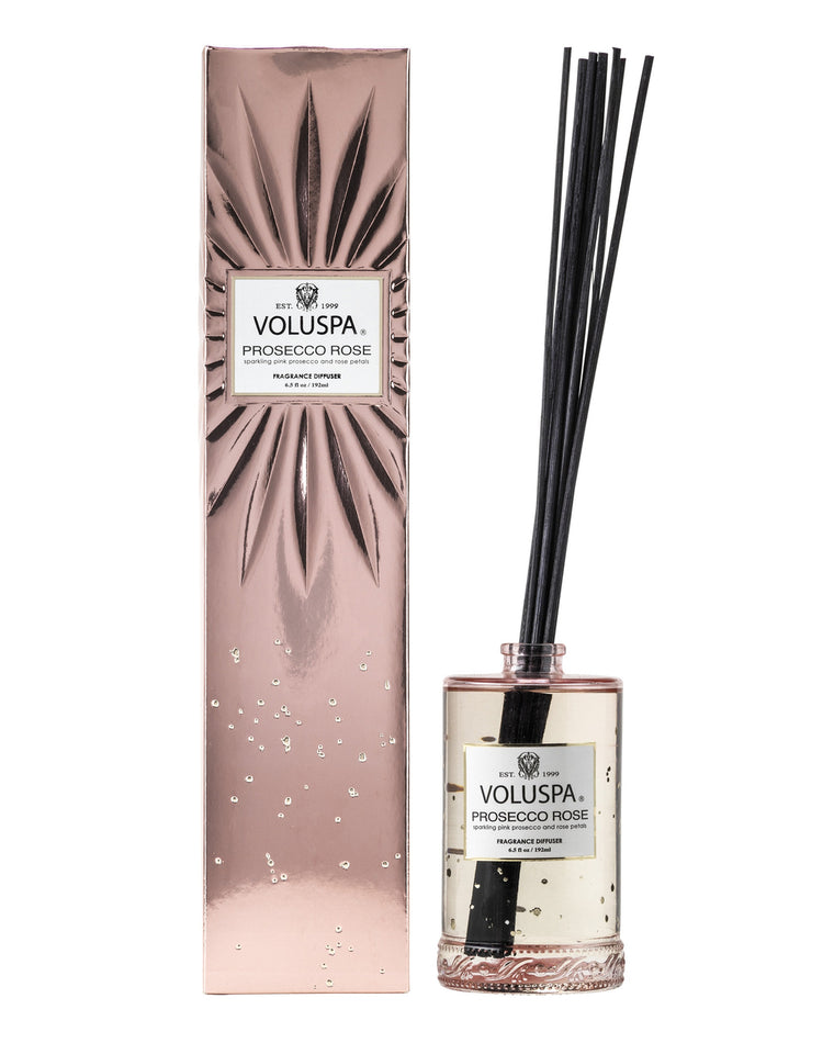 Prosecco Rose Fragrant Oil Reed Diffuser