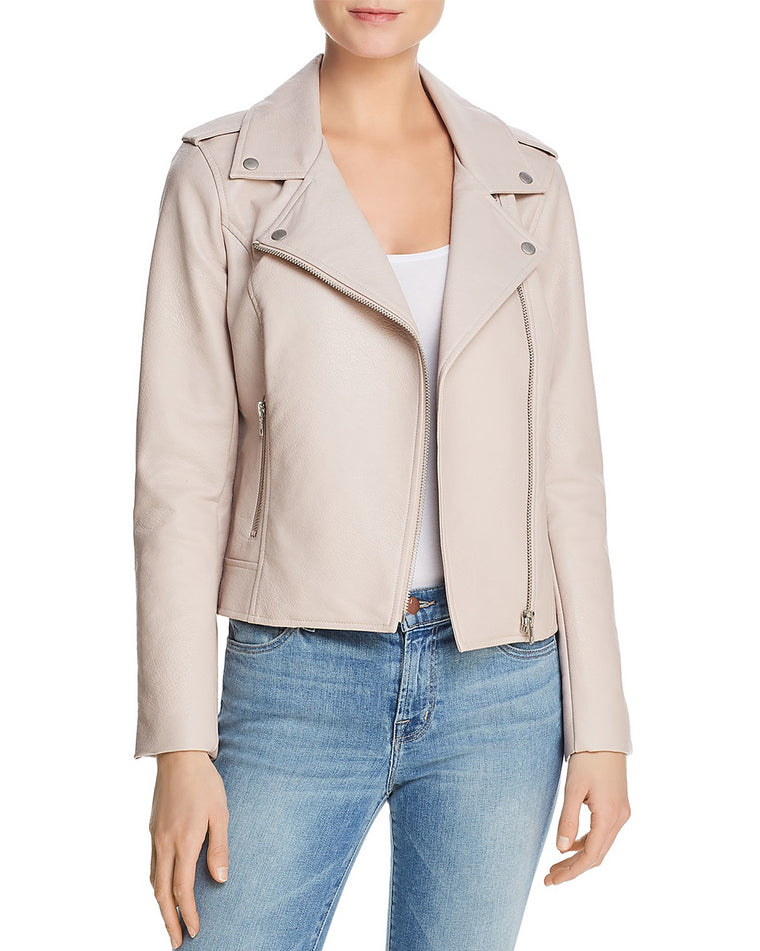 Amelie Faux Leather Moto Jacket