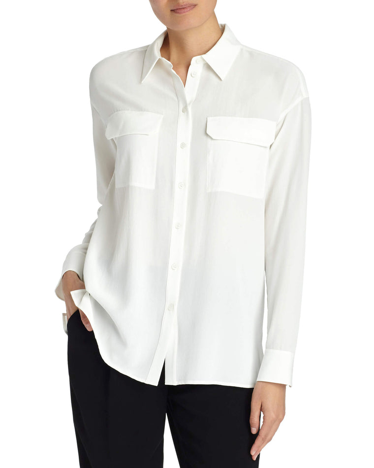 Brenna Lightweight Crepe Blouse