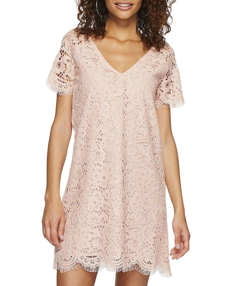 Trista Lace Shift Dress