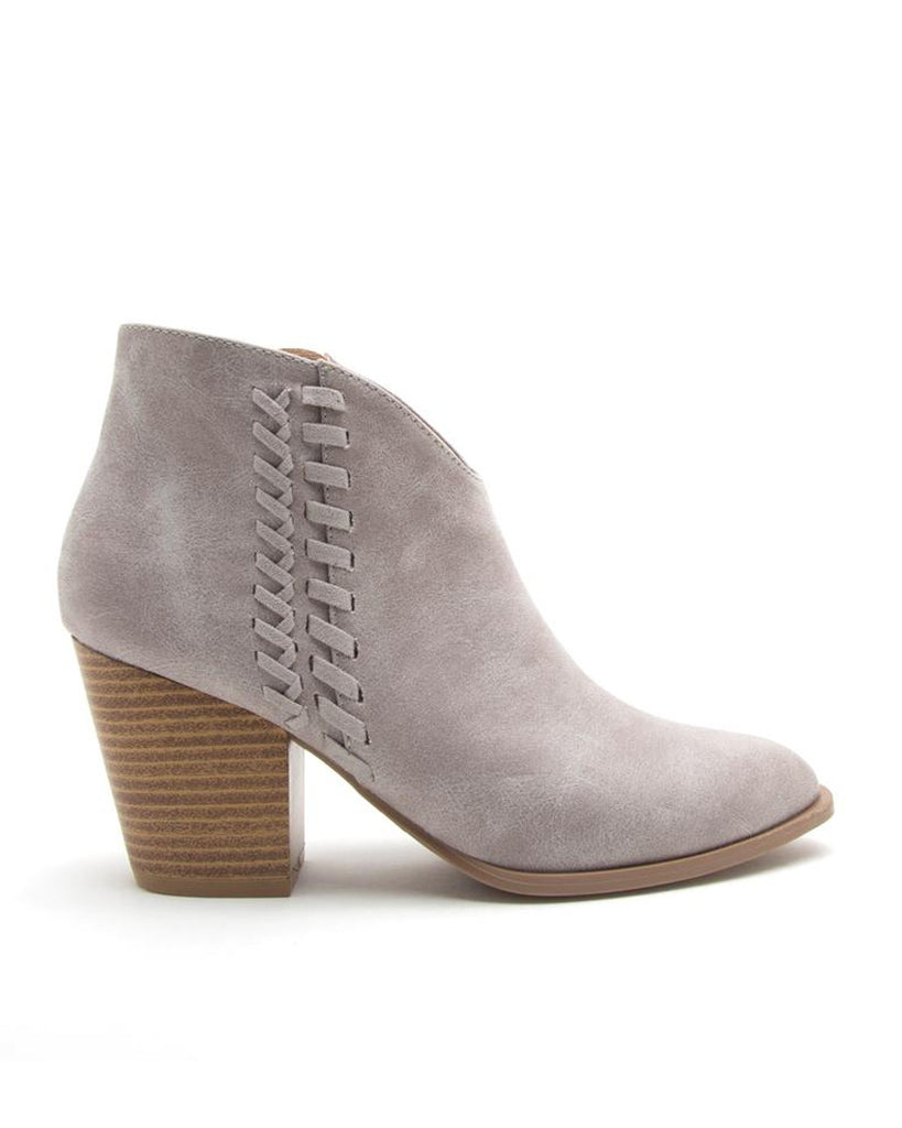 Back To Your Roots Ankle Booties