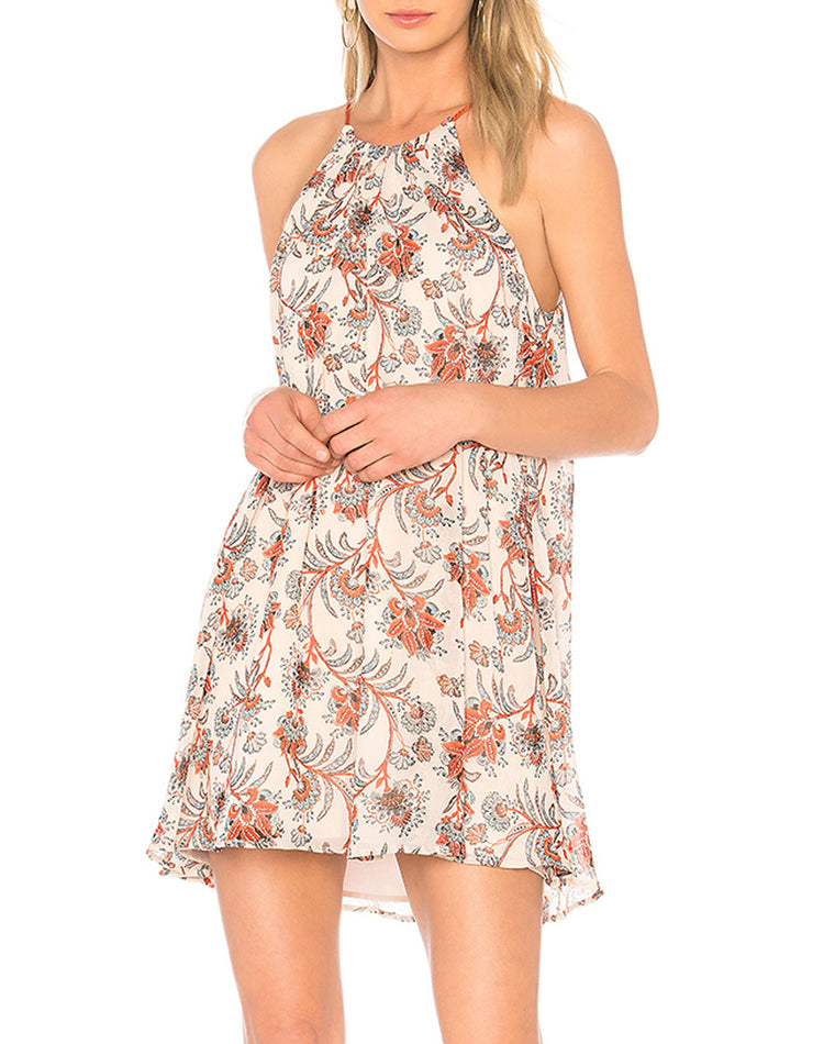 Alissa Floral Trapeze Dress
