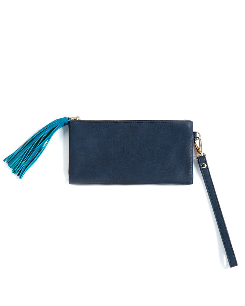 Stevie Tassel Wristlet Wallet