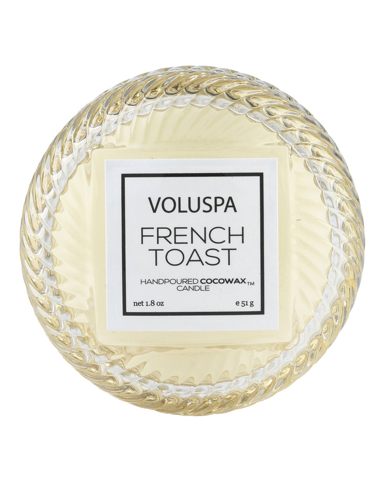 French Toast Macaron Candle