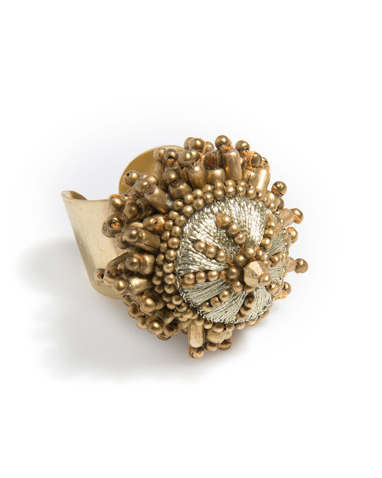 Ofelia Beaded Cocktail Ring