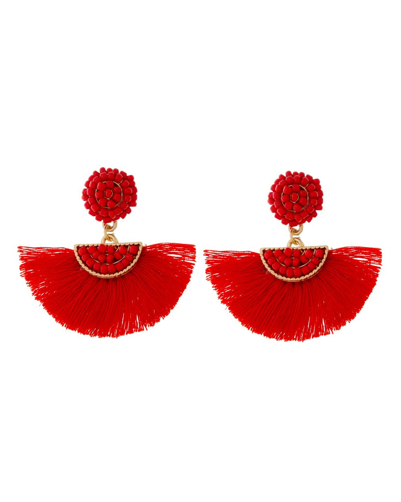 Kenya Fringe Drop Earrings