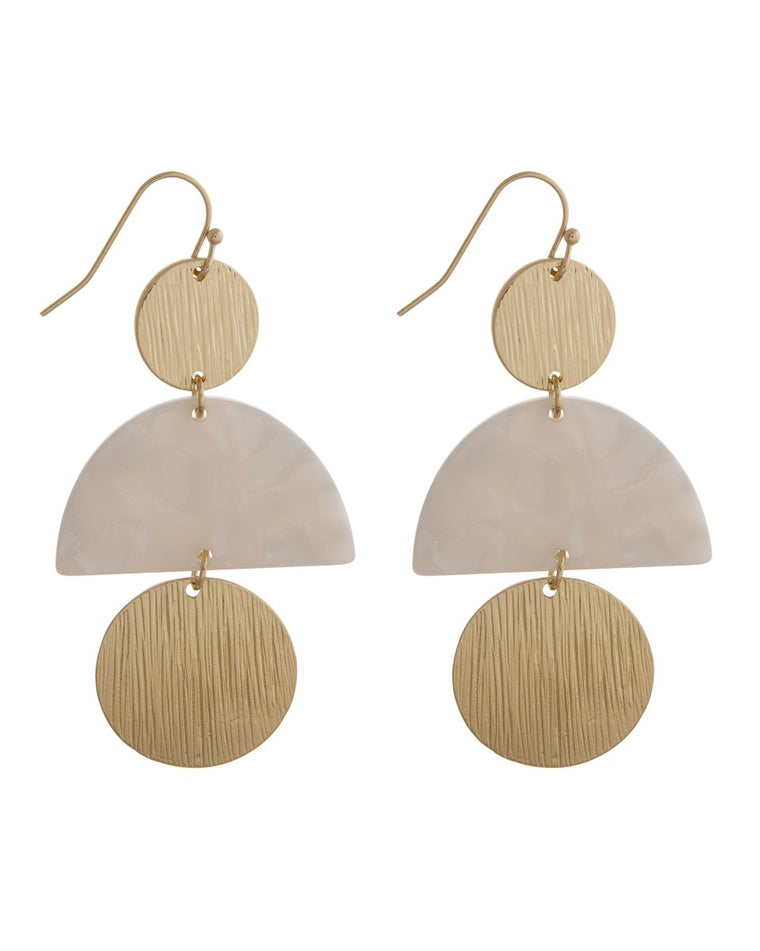 Daveigh Geometric Drop Earrings