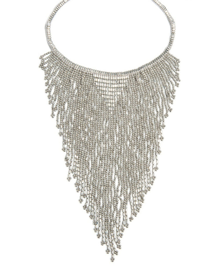 Paula Choker Bib Necklace