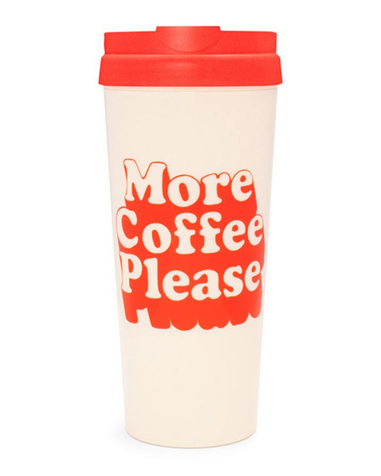 More Coffee Please Thermal Mug