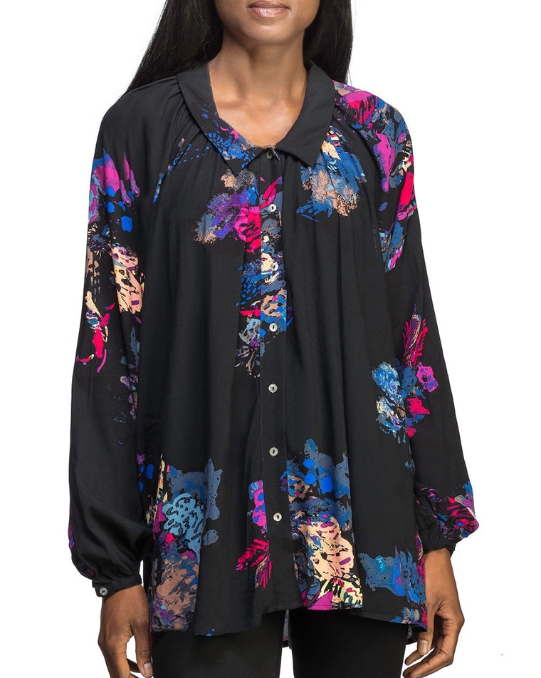 Meadow Lark Floral Blouse