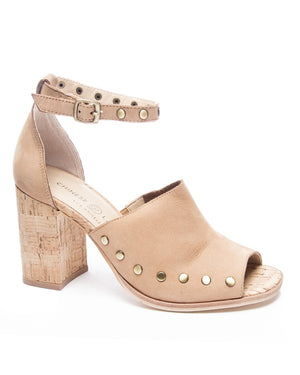 Savana Cork Heel Sandals
