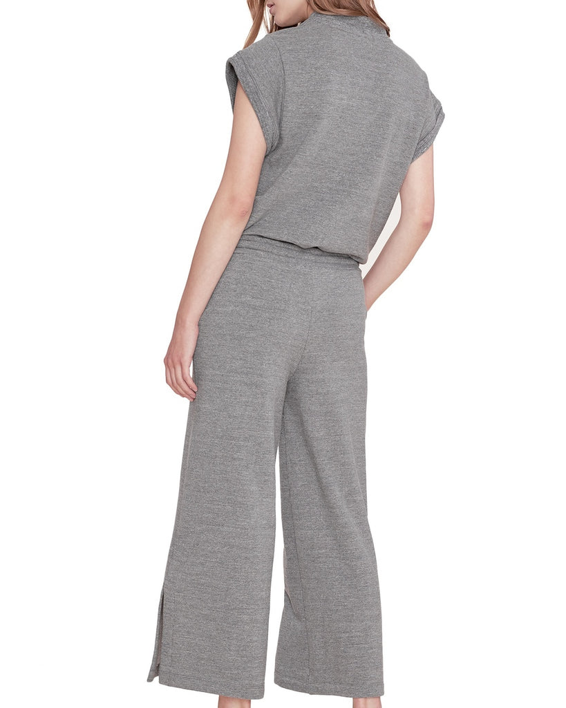 Wrap Sweatshirt Jumpsuit