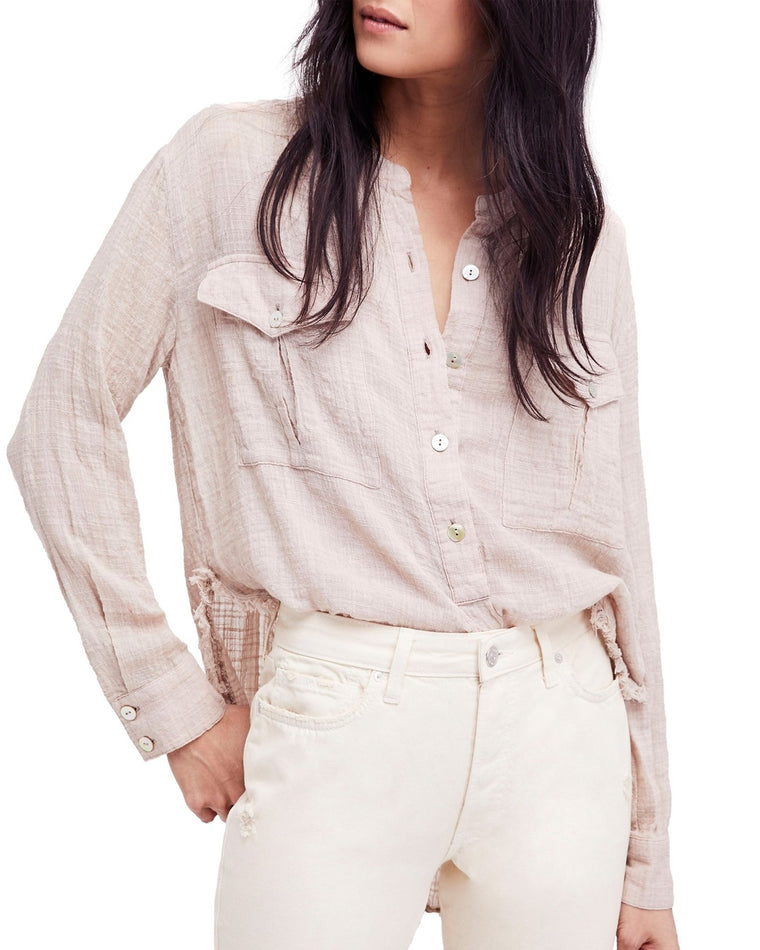 Talk To Me Buttondown Blouse