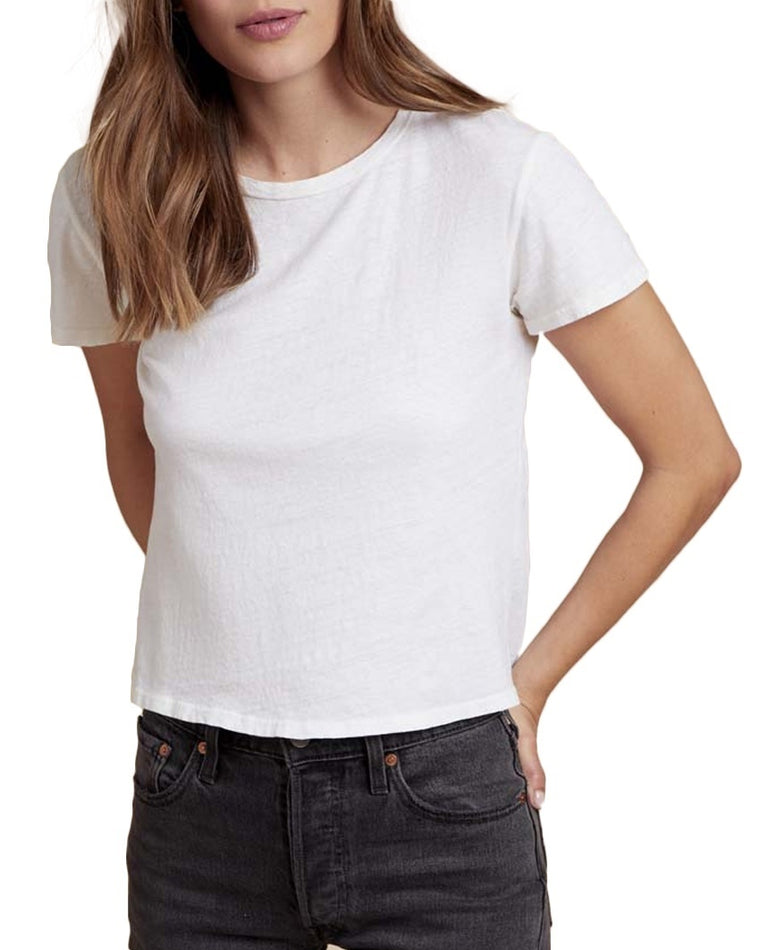 Marie Crop Short Sleeve Tee