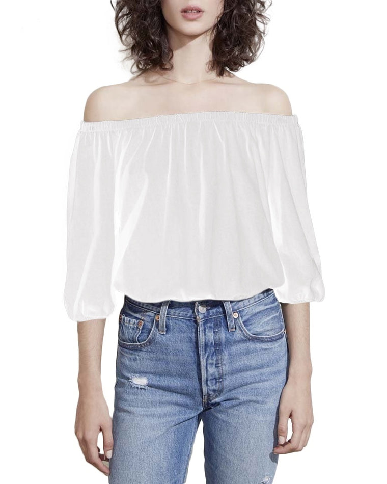 Capri Romance Off-the-Shoulder Top