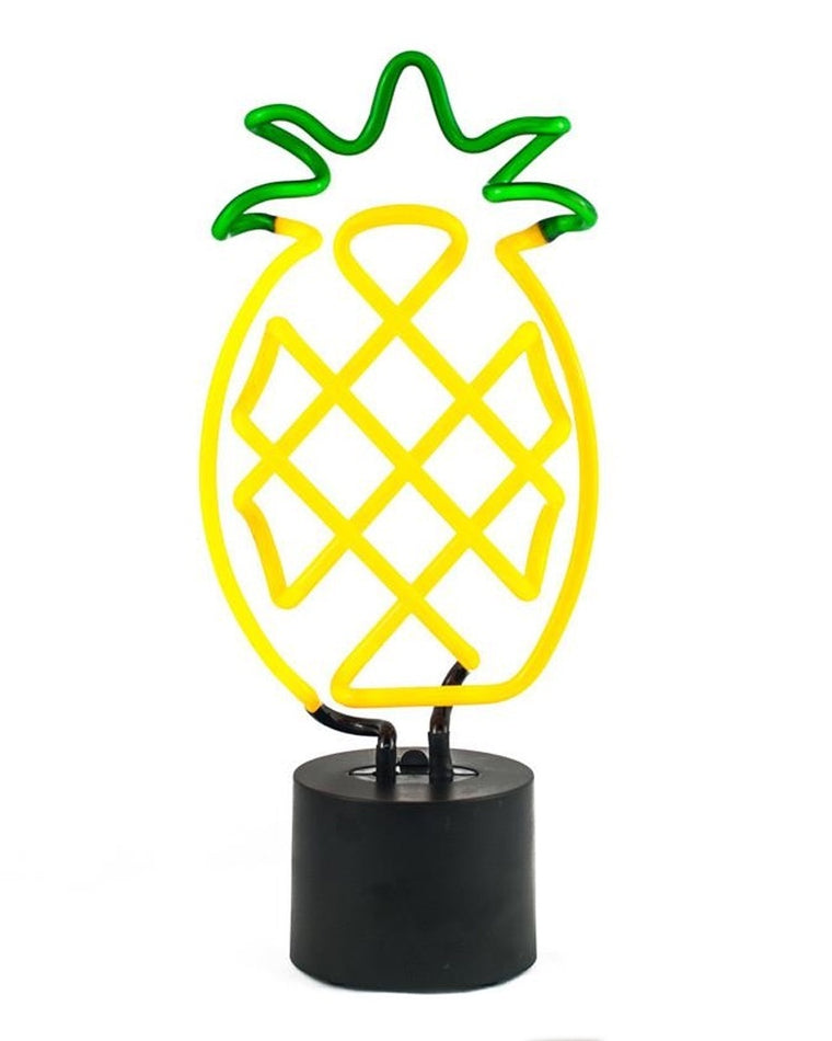 Pineapple Neon Desk Light