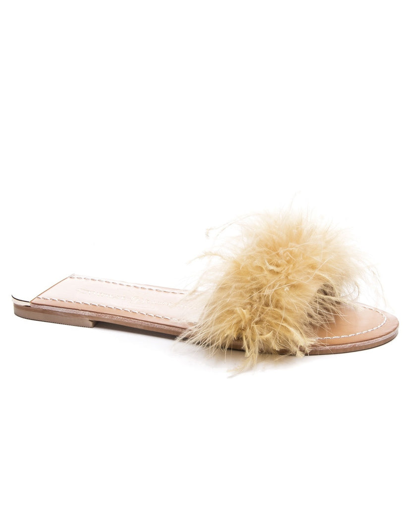 Zoey Marabou Sandals