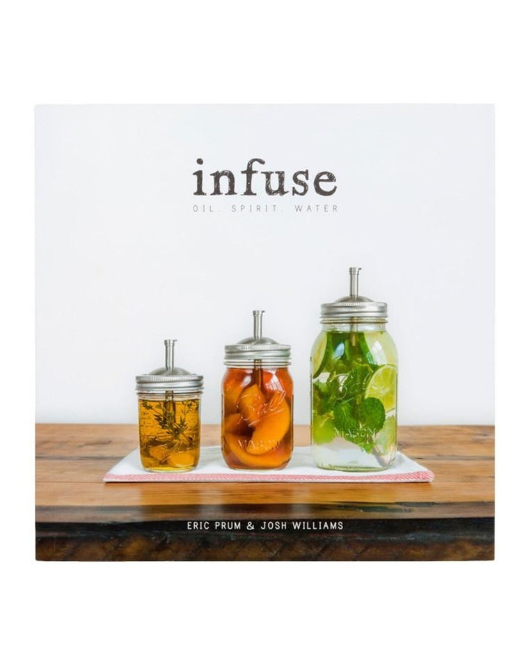 'Infuse: Oil, Spirit, Water' Book