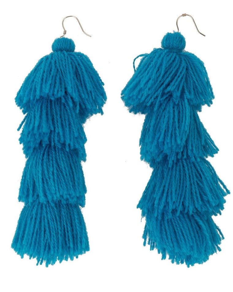 Carlotta Tassel Earrings
