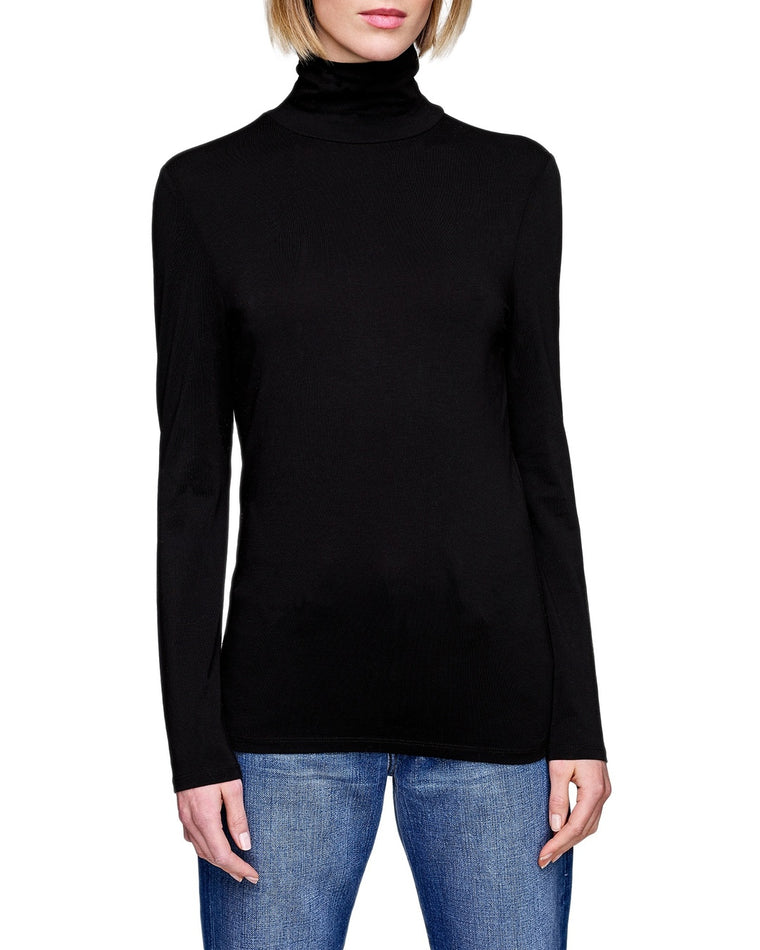 Cotton Modal Scruchneck