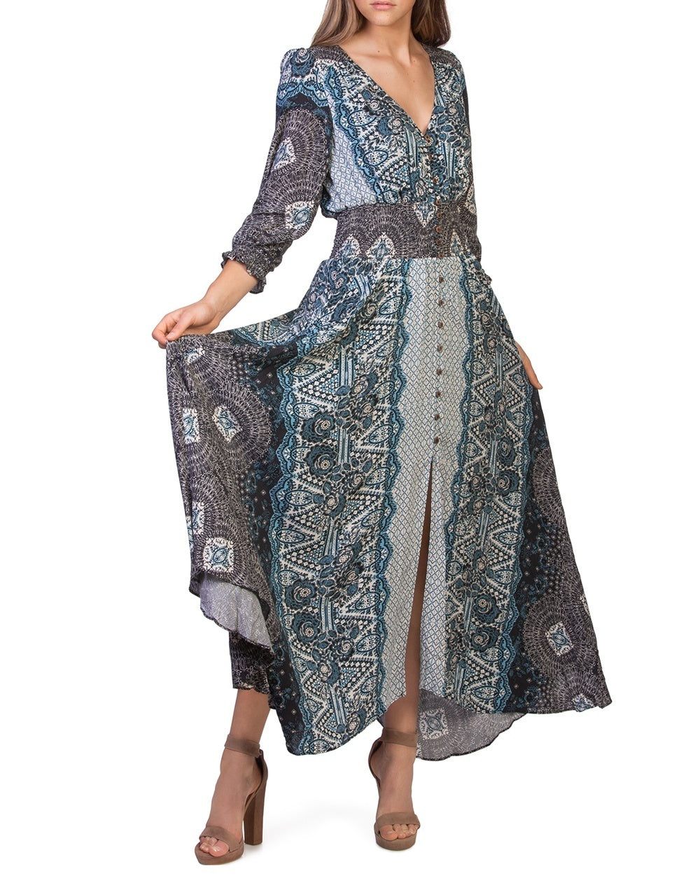 5bc84b7578d Free People Mexicali Rose Maxi Dress - The Shopping Bag