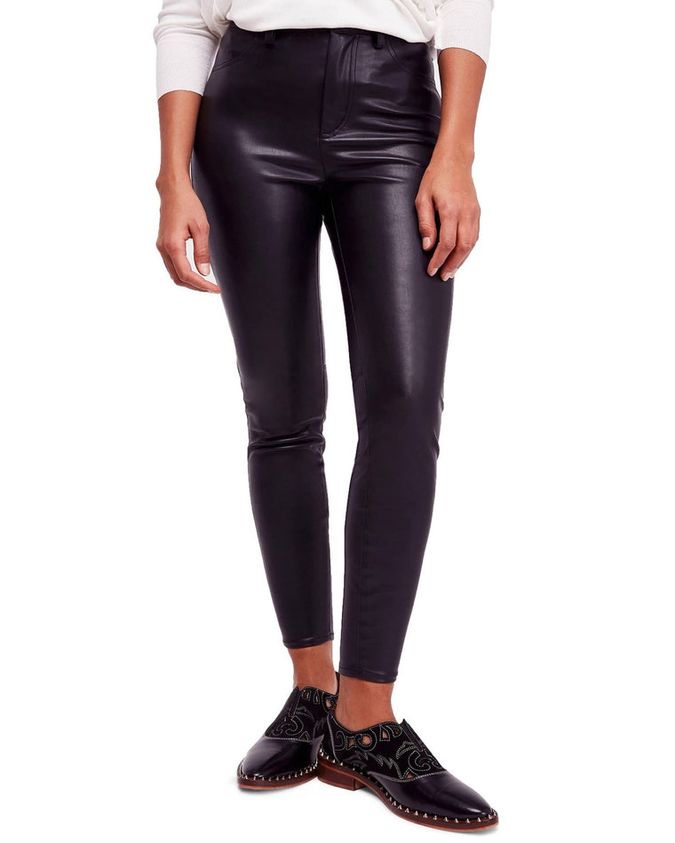 Long & Lean Vegan Leather Pants