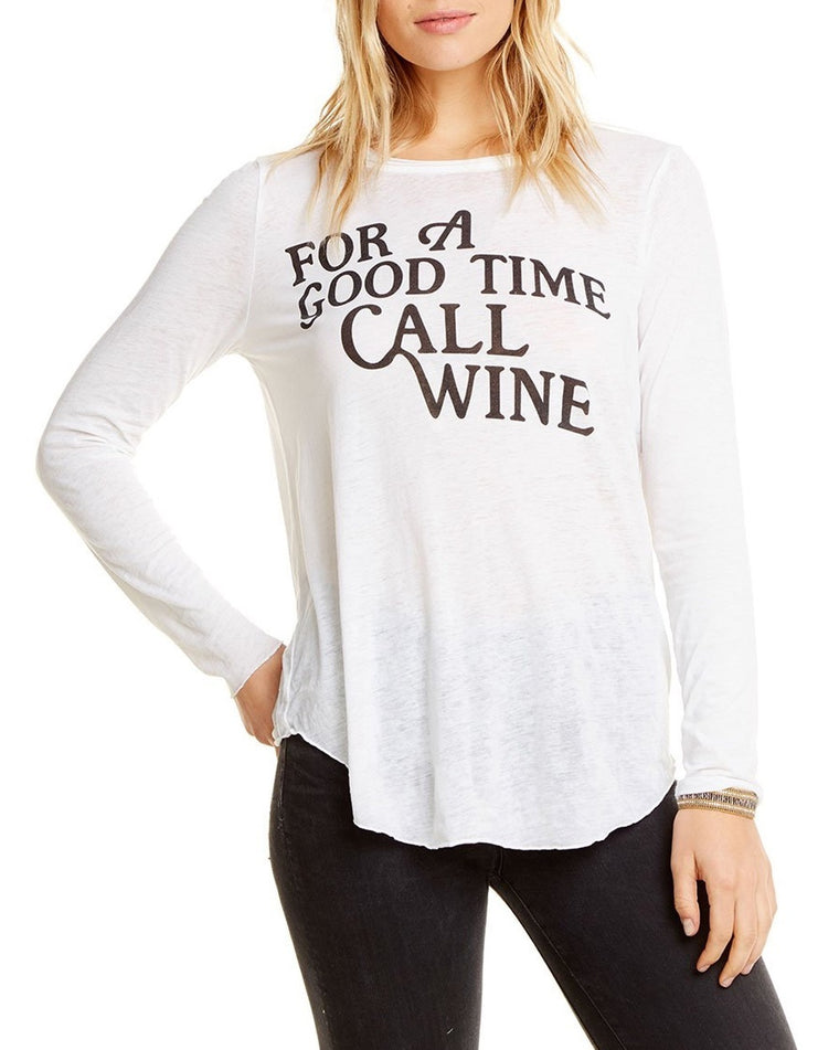 Good Time Wine Long Sleeve Tee