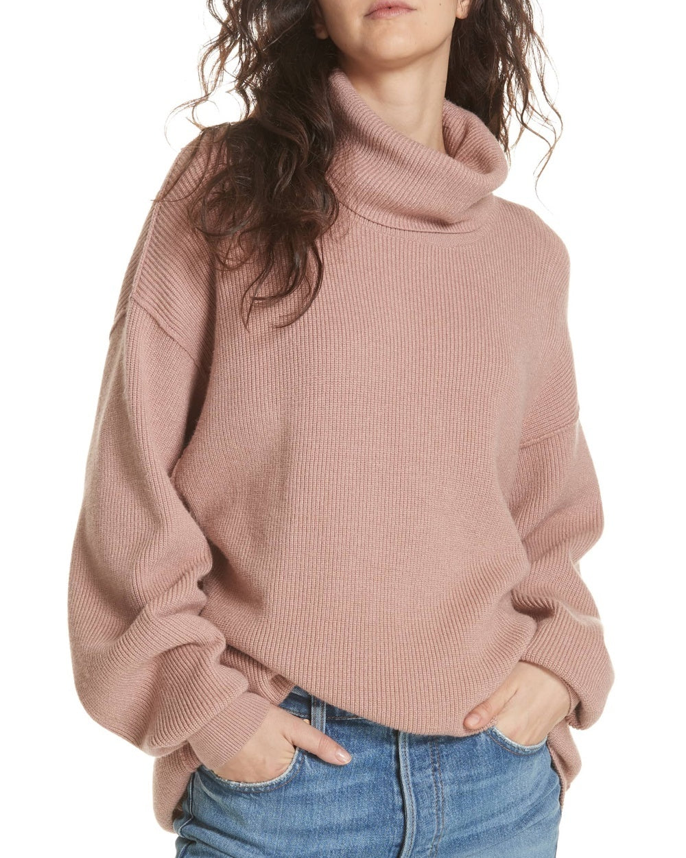 bab79e2d6f23 Free People Softly Structured Knit Tunic Sweater - The Shopping Bag