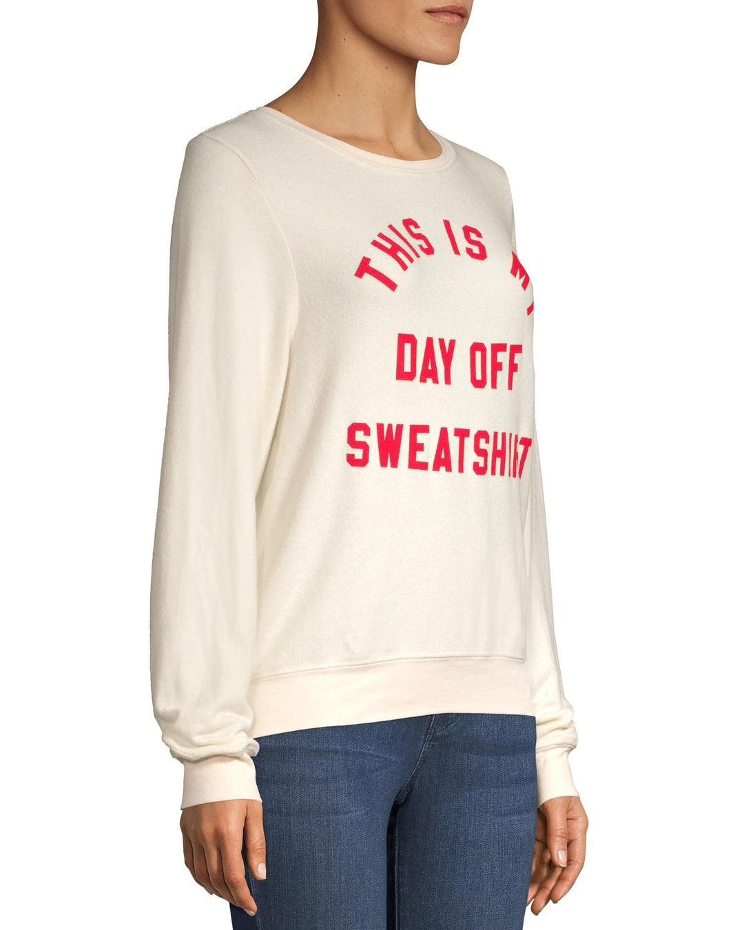 Wildfox Christmas Sweater.This Is My Day Off Sweatshirt