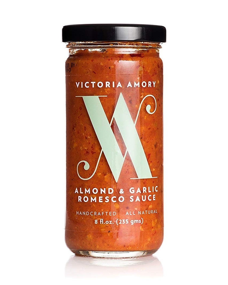 Almond & Garlic Romesco Sauce