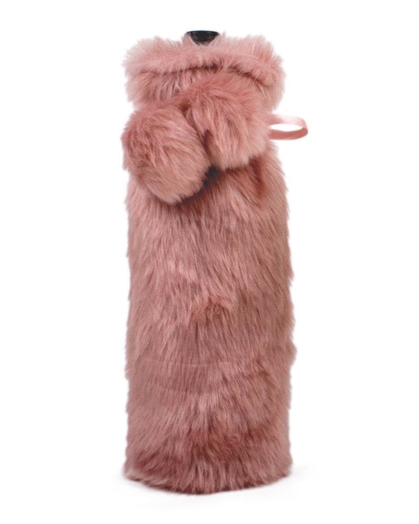 Luxe Faux Fur Wine Bag - The Shopping Bag 72db4b4aaf