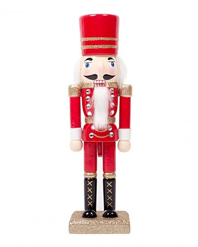 Glitter Tabletop Nutcracker