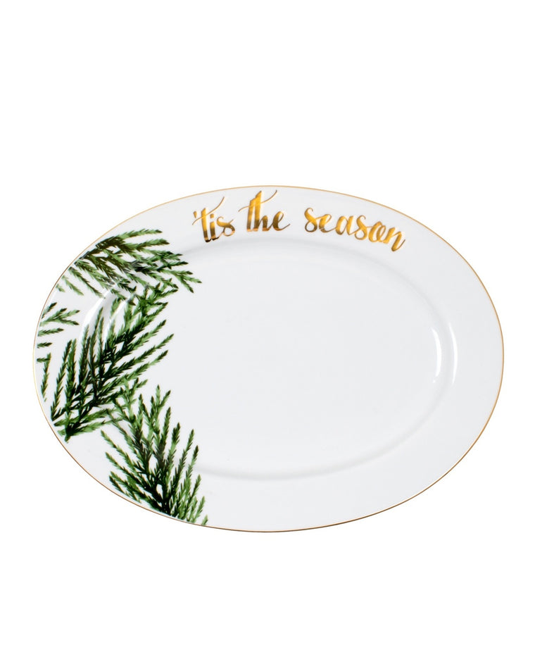 'Tis The Season Evergreen Platter