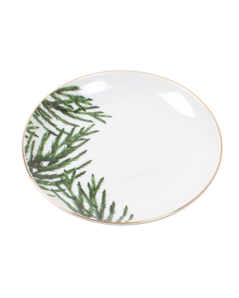 Evergreen Dessert Plates (Set of 4)