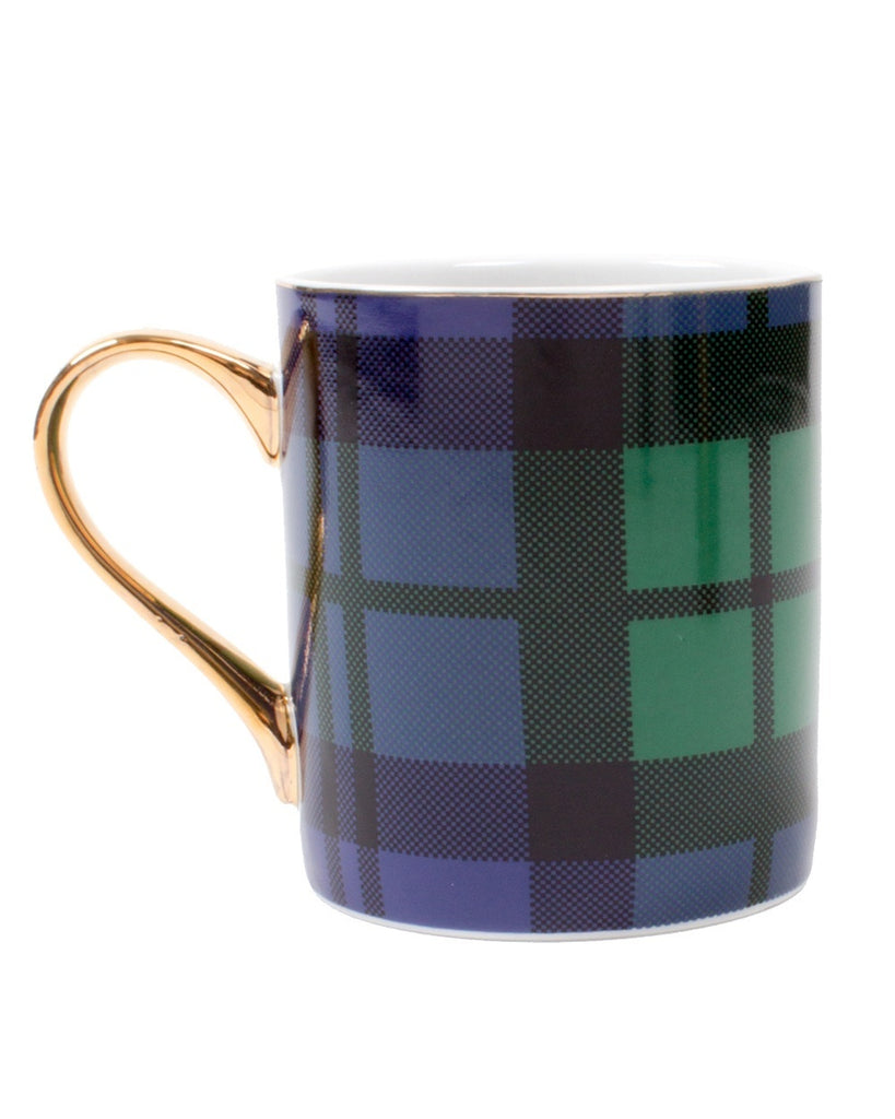 Plaid Pattern Mug