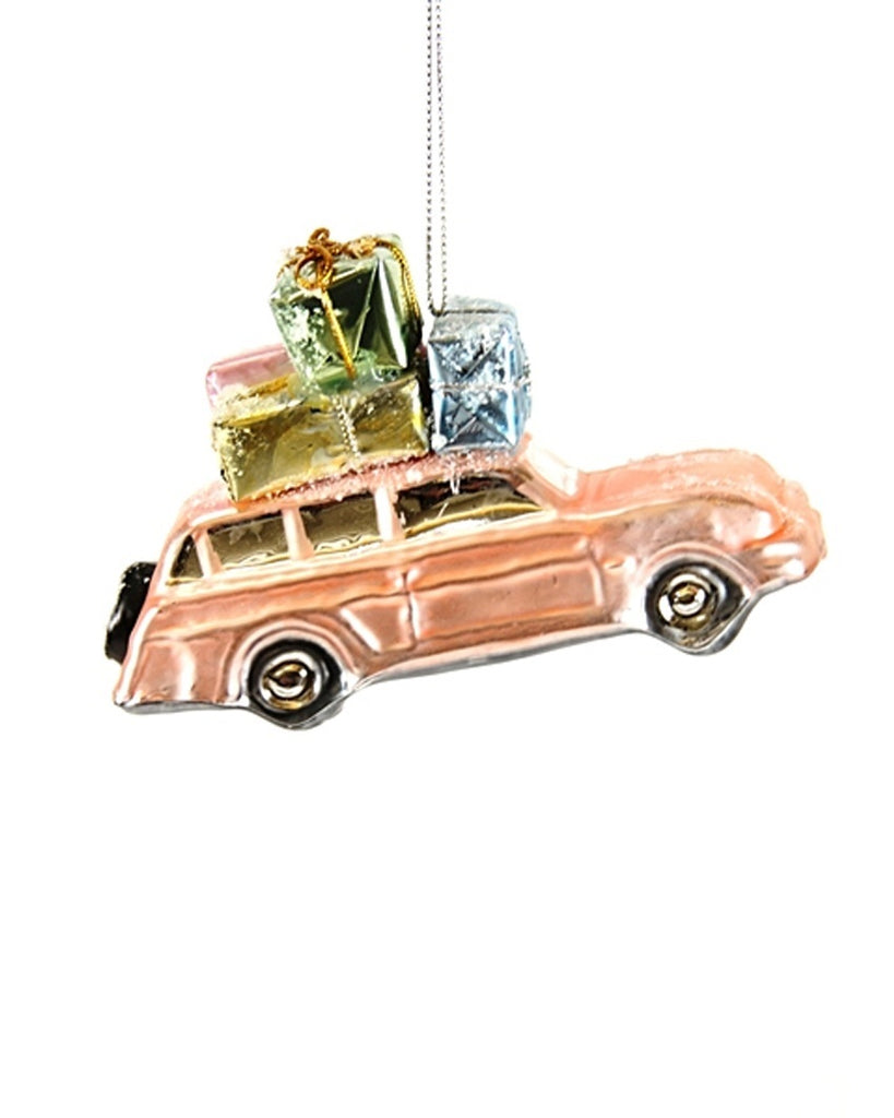 Over the River Car Ornament