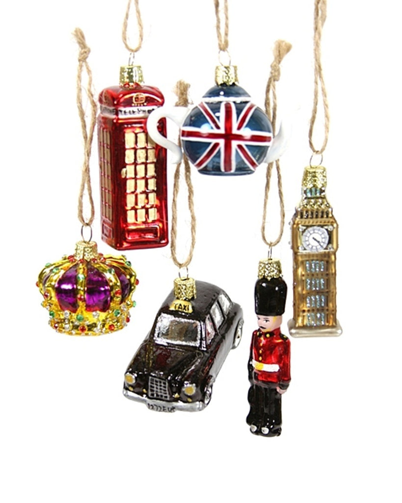 London Miniature Ornaments (Set of 6)