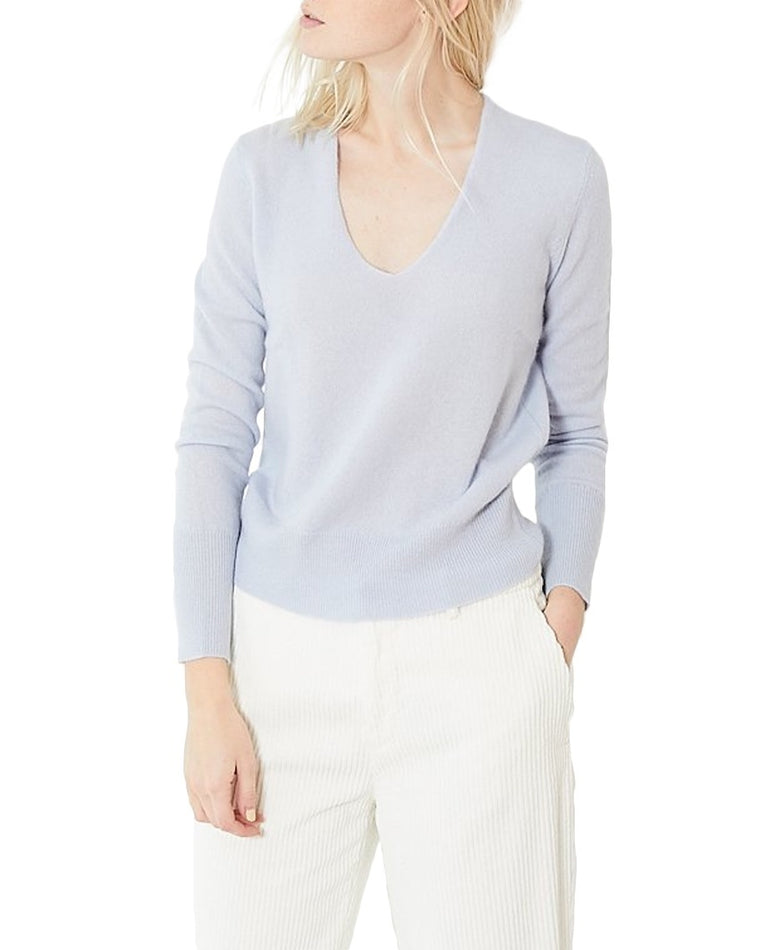 Cashmere Soft V-Neck Sweater