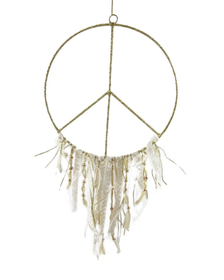 Peace Dream Catcher Ornament