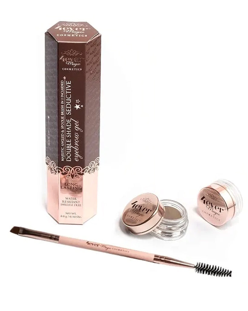Double Shade Eyebrow Gel & Brush Set